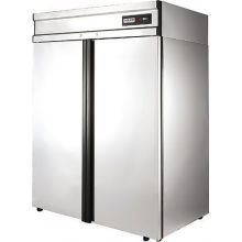 Морозильный шкаф POLAIR CB114-G нерж.