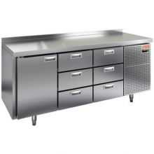 Морозильный стол HiCold SN 133/BT
