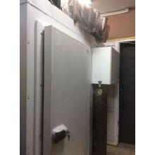Морозильная камера для мяса с установкой вешал для туш